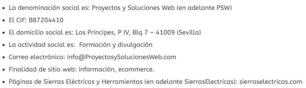 Titular De La Web
