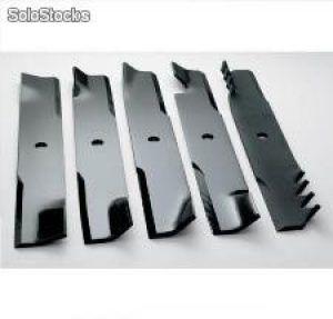 Anladia Cuchillas de Recambio para Cortacesped 70mm, Rojo 100pcs Cuchillas de Pl/ástico para Robots Cortabordes Gardena 9823 9825